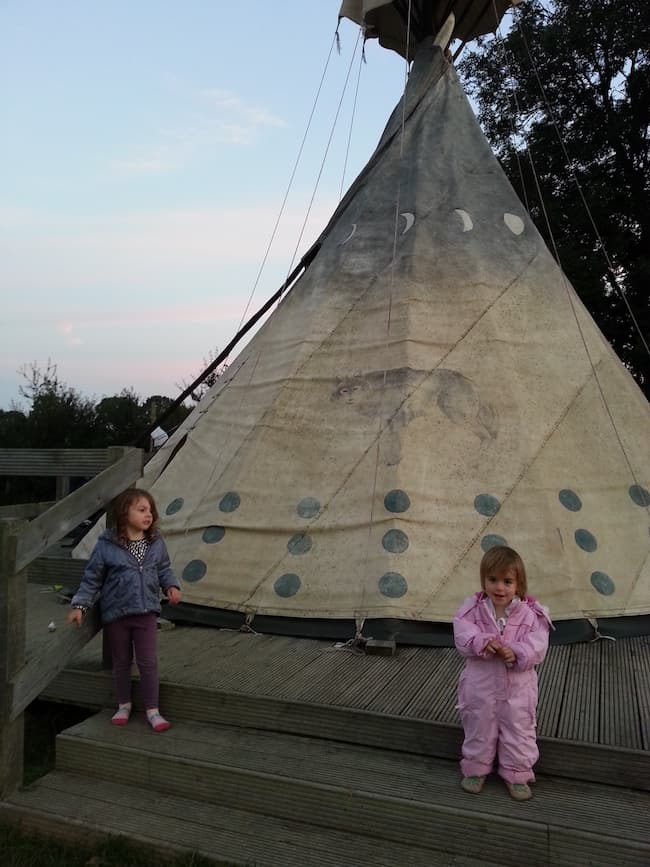 camping, glamping, Sussex, luxury family travel