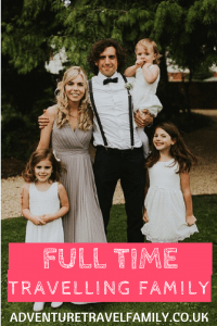 full time travelling family adventure travel family portrait