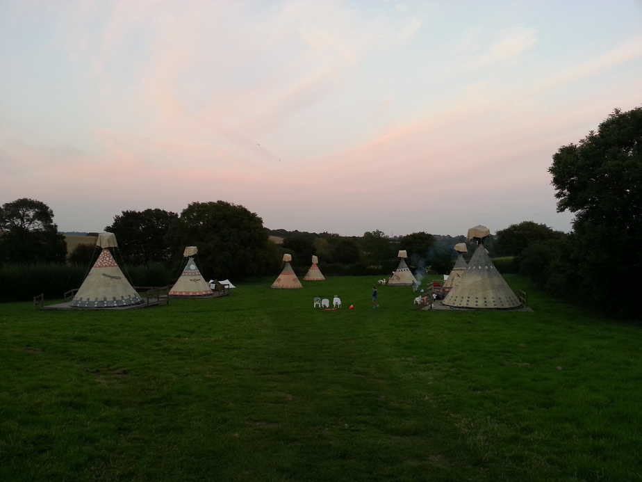 glamping south downs
