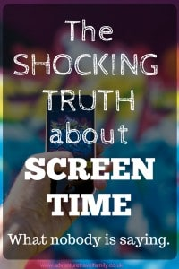 recommended screen time