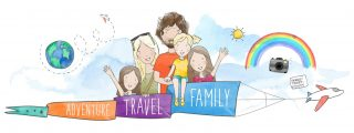 adventure travel family, full time travelling family
