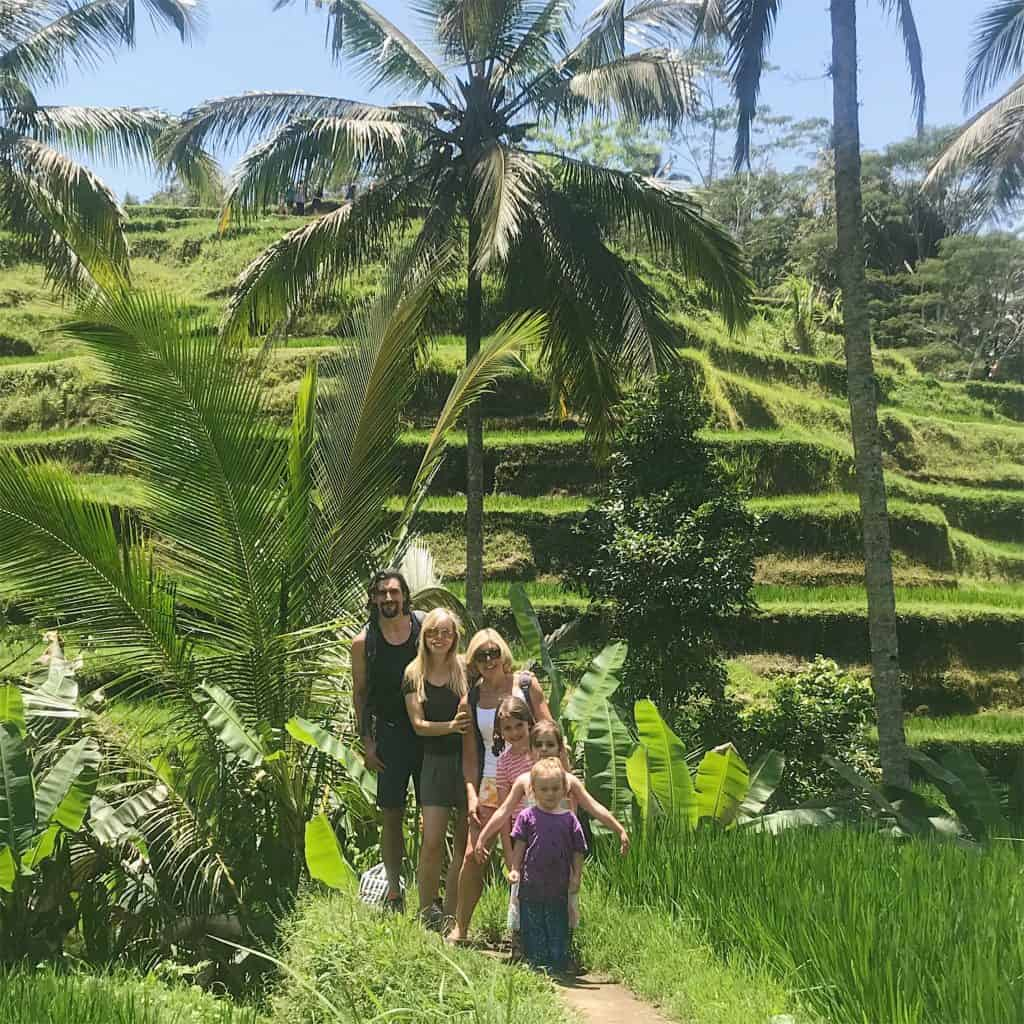 adventure travel family, tellaganang, ubud