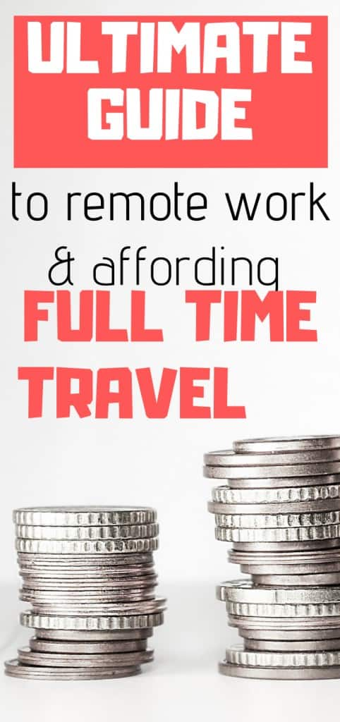 how to afford long term travel