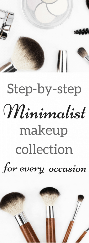 minimalist makeup collection