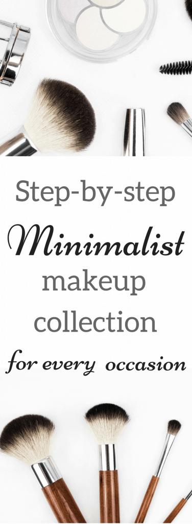 minimalist makeup collection