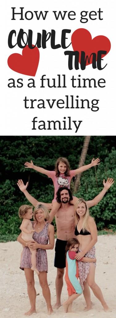 full time travelling family