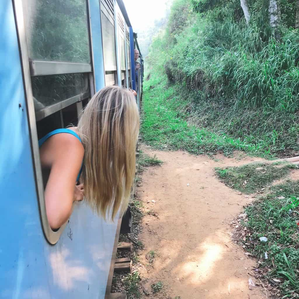 Sri Lanka train from Ella to Kandy (with 3 kids under 7!)
