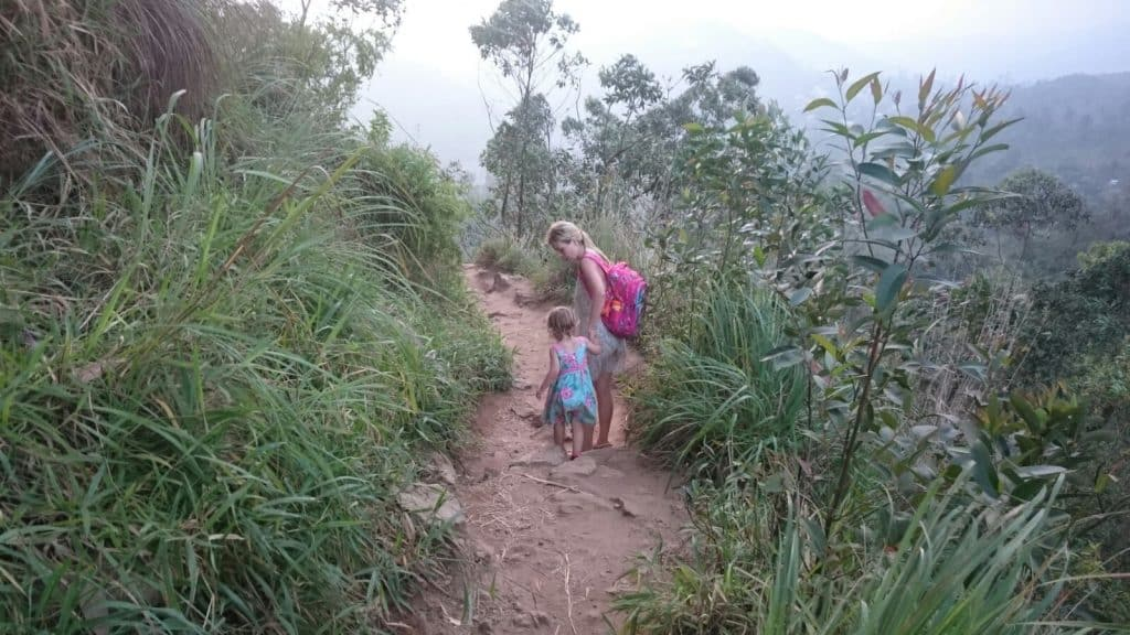 little adams peak sri lanka, ella sri lanka, sri lanka with kids