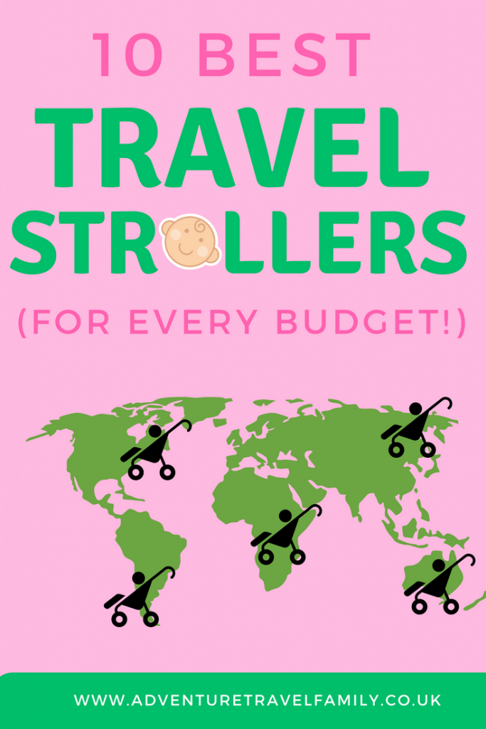 Best travel strollers map