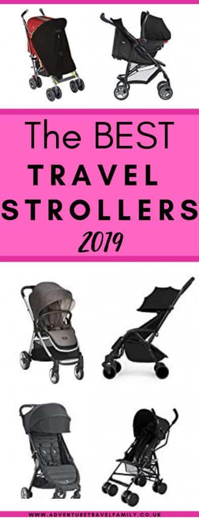 best lightweight travel strollers 2019