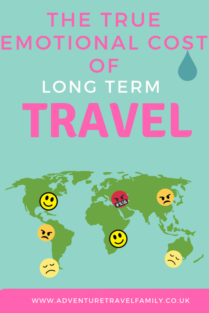 map of long term full time travel