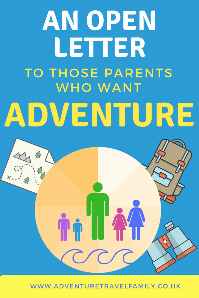 A family on a travel adventure