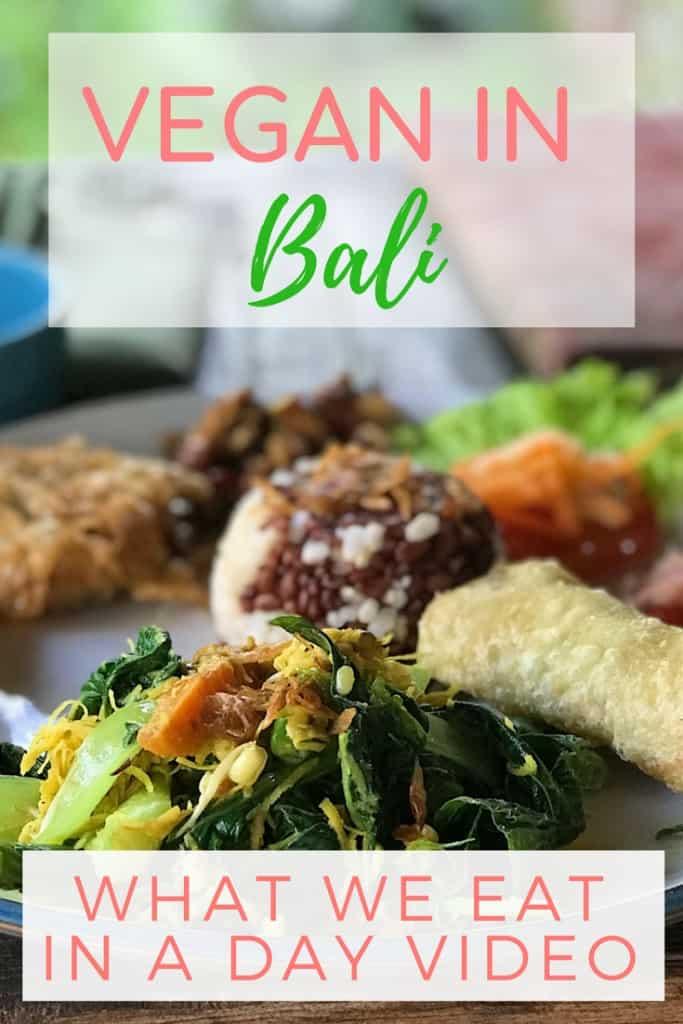 Vegan in Bali
