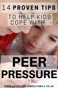 tips on how to cope with peer pressure
