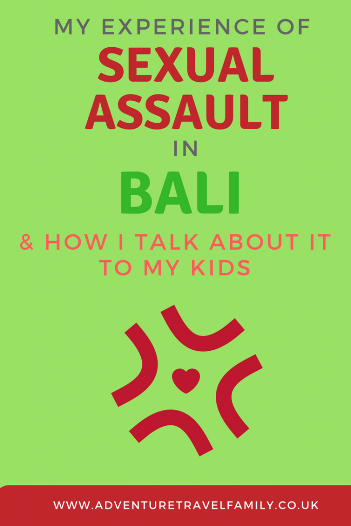 sexual assault in bali text and a heart