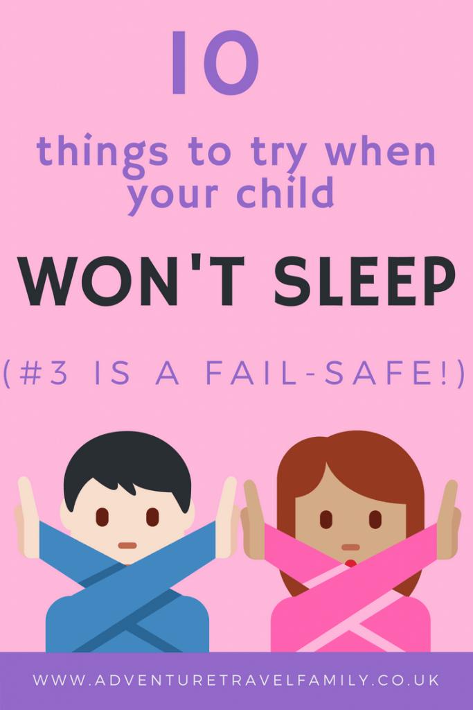 toddler won't sleep
