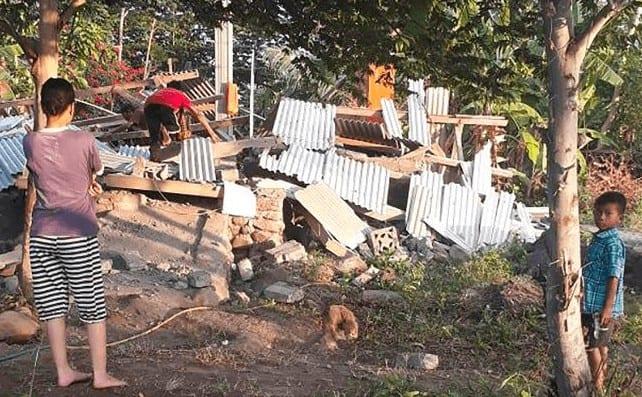 bali earthquake lombok earthquake