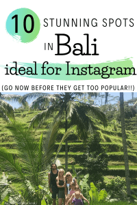 bali travel photography locations for instagram