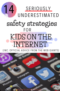 online safety for kids, internet safety tips