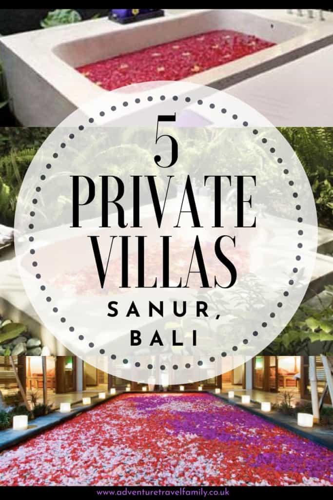 private villa sanur