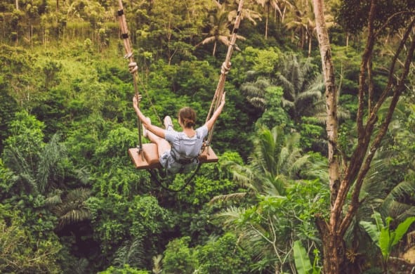 ubud jungle swing bali