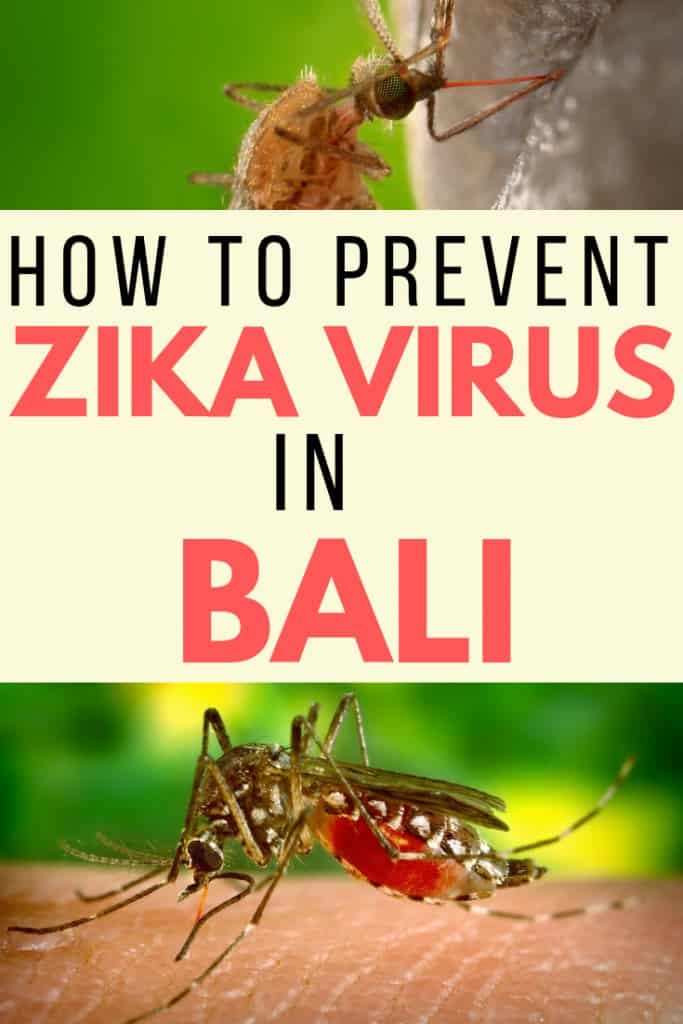 bali tips for preventing zika