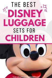 disney children's luggage