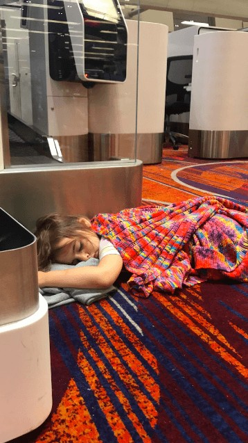 how to get rid of jet lag in toddlers