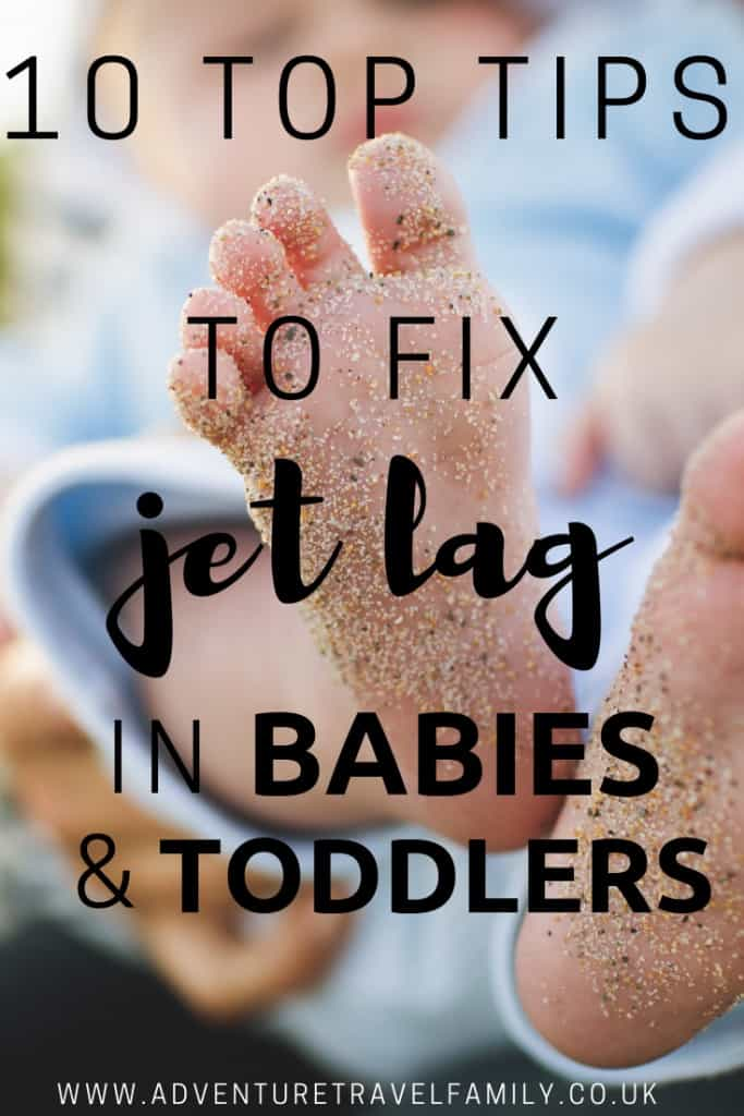 how to get rid of jet lag in babies