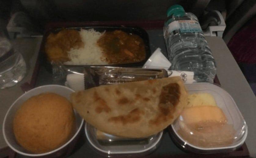sri lanka airplane food