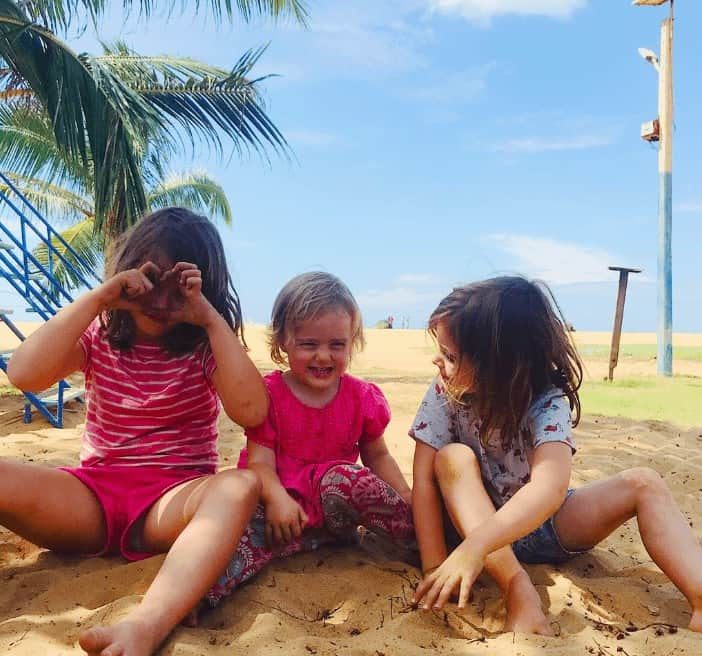 Christmas in Sri Lanka with kids
