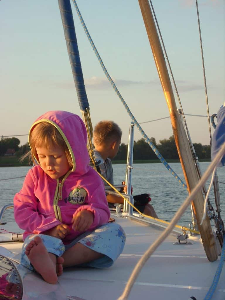 family sailing holiday