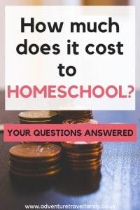 homeschooling cost uk