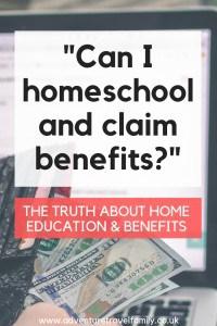 uk homeschooling on a budget, homeschooling tax credits benefits