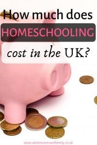 uk homeschooling cost