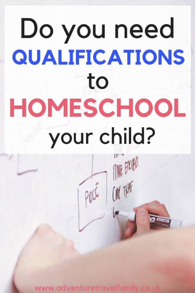 what qualifications do you need to homeschool uk