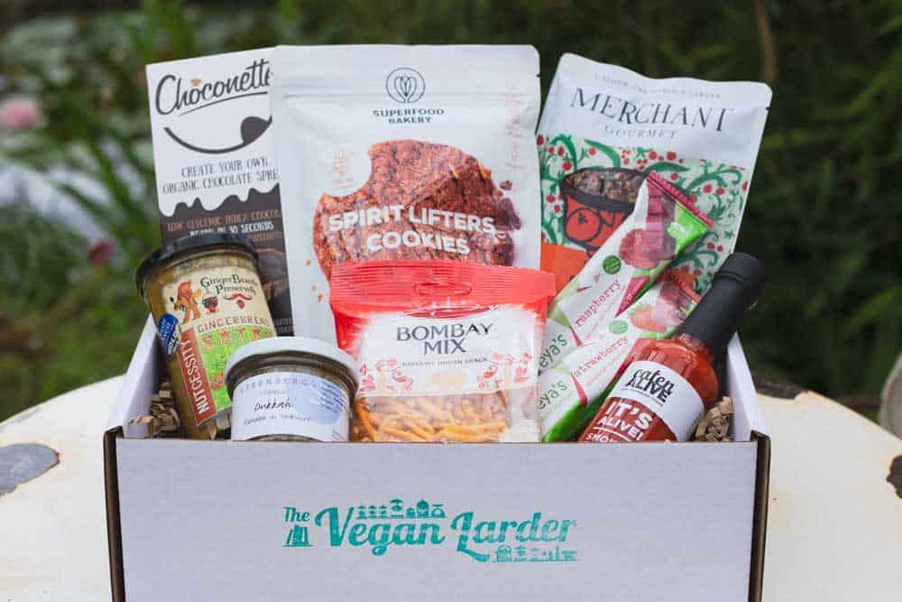 vegan larder vegan subscription box
