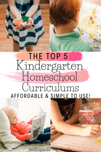 best homeschool kindergarten curriculum, homeschool kindergarten materials