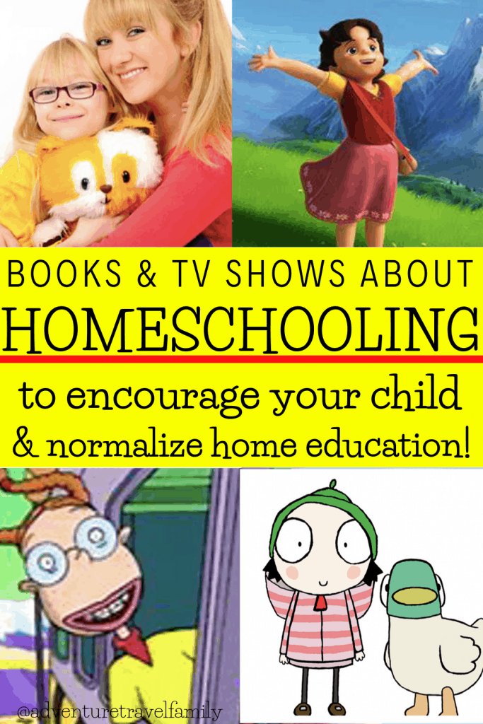 tv shows with homeschooled kids, books with homeschooled kids