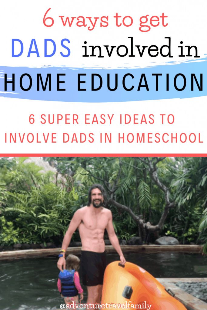 homeschooling dad in bali