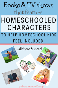 tv and books featuring homeschooled kids