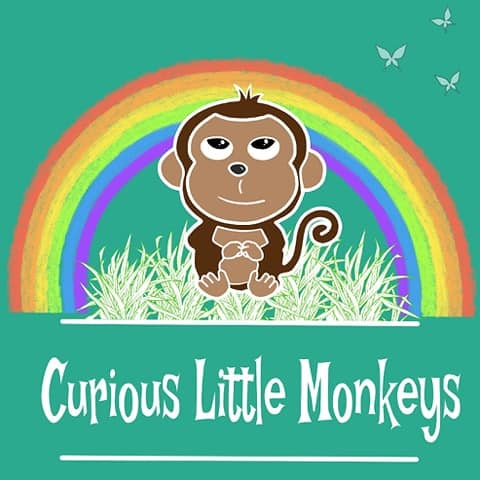 curious little monkeys homeschool group logo