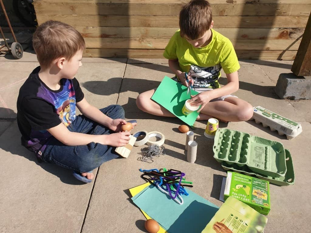STEM easter activity for kids