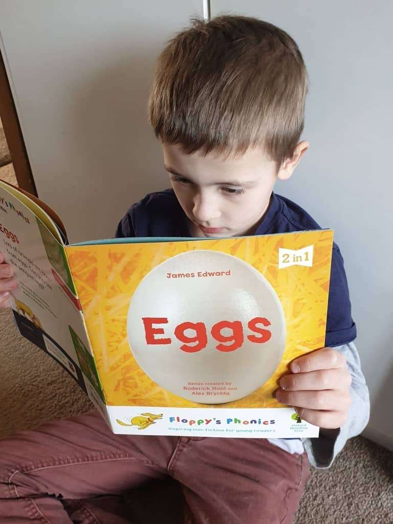 easter book about eggs