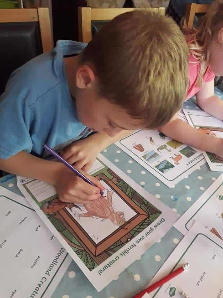 ks1 ks2 literacy resource gruffalo