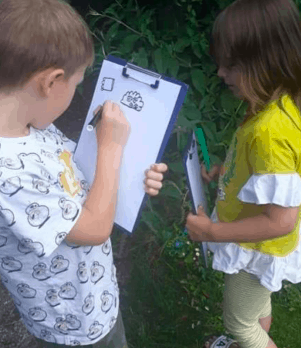 letter hunt ks1 outdoor activity
