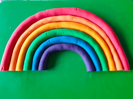 rainbow playdoh primary activity ks1