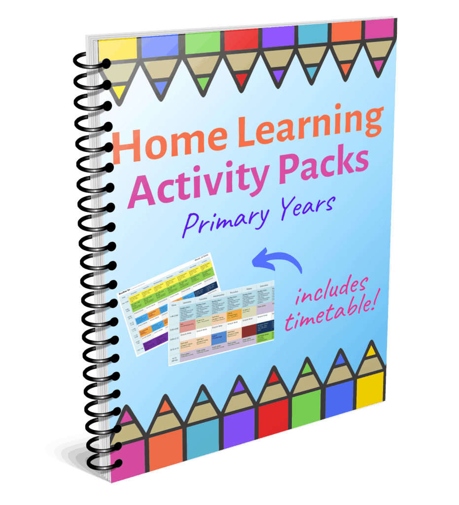home learning pack uk