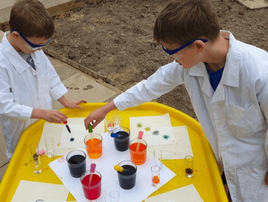 homeschool science experiment
